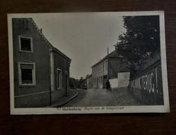 Oude Postkaart    Begin V/d .  Langestraat  HULDENBERG - Huldenberg