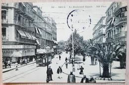 France Oran Le Boulevard Seguin Tram 1913 - France
