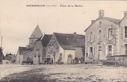 Côte-d'Or - Bourberain - Place De La Mairie - Francia