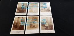 6 Photos 74 ABONDANCE Ou ST GINGOLPH Ou 63 Env CLERMONT F Marie MAIGRON PASQUET CHAMARD G PELLET BAUD BURLAND & Louise - Genealogie