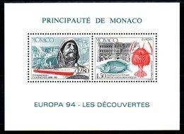 MONACO - Rare Bloc Europa 1994  - Neuf ** - MNH - Cote: 155,00 - - Blocs