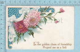 Carte Postale CPA -Friendship- Used Voyagé En 1908 + CND Timbre,send To Parry Sound Ont - Cartes Postales