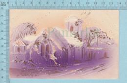 Carte Postale CPA - Christmas- Used Voyagé En 1909 + CND Stamp, Send To Sherbrooke Quebec - Cartes Postales