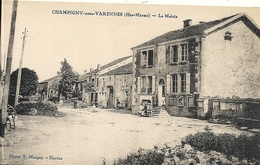 *CHAMPIGNY SOUS VARENNES. LA MAIRIE - Frankrijk