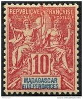Madagascar (1896) N 43 * (charniere) - Ungebraucht