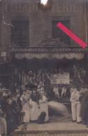 """75-PARIS-CARTE-PHOTO""""BOUCHERIE-CHARCUTERIE FAMIN"""",9 Rue D'AVRON PARIS-Concours Animaux-METIER-COMMERCE-28/7/1913 - Magasins"""