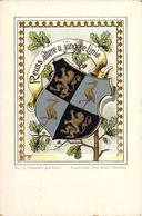 Reuss ältere U.jüngere Linie Wappen,Heraldik - Ansichtskarten