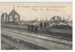 02 Tergnier   La Gare - Gares - Sans Trains