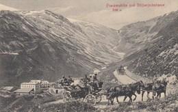 PASSO DELLO STELVIO-BOLZANO-FRANZENSHOHE UND STILFSERJOCHSTRASSE-BELLISSIMA-CARTOLINA VIAGGIATA-ANNO 1907-1910 - Bolzano (Bozen)