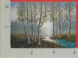 CARTOLINA NV ITALIA - MYRIAM SALSINI - Paesaggio Fluviale - LIVORNO - 10 X 15 - Pittura & Quadri