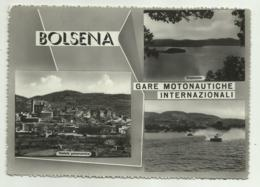 BOLSENA - GARE MOTONAUTICHE INTERNAZIONALI   VIAGGIATA FG - Viterbo