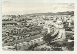 TRIESTE - PANORAMA   VIAGGIATA FG - Trieste