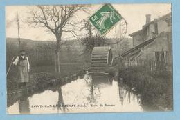 A076  CPA   SAINT-JEAN-DE-BOURNAY  (Isère)  Usine Du Battoire - Roue à Aubes  ++++++ - Saint-Jean-de-Bournay