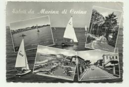 SALUTI DA MARINA DI CECINA   VIAGGIATA  FG - Livorno