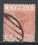 Cipro 1882 Unif.22 O/Used VF/F - Usati