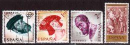 Espagne 1959 Yvert 916 - 917 - 919 - 938 (o) B Oblitere(s) - 1951-60 Oblitérés