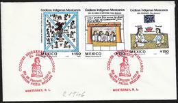 Messico/Mexico/Mexique: FDC, Archeologia Azteca, Archéologie Aztèque, Aztec Archeology - Archeologia