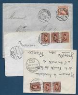 Egypte -  3 Enveloppes - Égypte