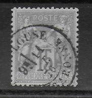 SAGE N/B - YVERT N° 66 OBLITERE - COTE = 15 EUROS - - 1876-1878 Sage (Type I)