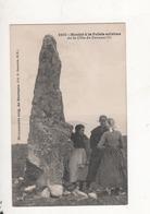 Menhir A La Pointe Extreme De La Cote De Crozon - Francia