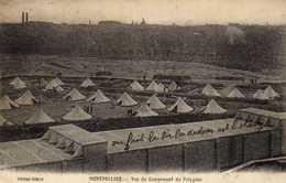 MONTPELLIER VUE DU CAMPEMENT DU POLYGONE - Montpellier
