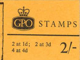 GREAT BRITAIN, Booklet N21, 1965, 2/-, Michel 22/23 - Markenheftchen