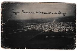 FOGGIA - PANORAMA VISTO A 1000 METRI  - CARTOLINA EPOCA ORIGINALE - Foggia