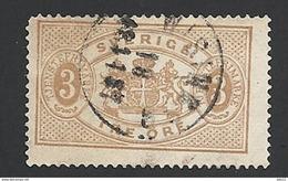 Schweden, Dienstpost, 1881, Michel-Nr. 1 B, Gestempelt - Service