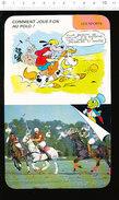 Humour Sport Polo à Cheval Maillet / Photo Compétition à Deauville En 1986   / IM D33 - Old Paper