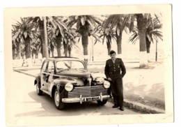 203  Peugeot  1957 Militaire MOSTAGANEN - Automobiles