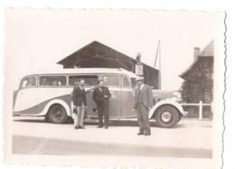 AUTOCAR RAPIDE BLEU  (Corse?)(légene Au Dos) 1936 - Photographs
