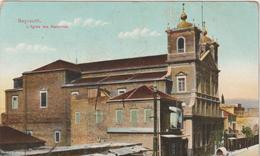 Liban :  BEYROUTH : Vue  église   Des  Maronites - Lebanon