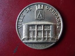 Ancienne Médaille De Table Bronze Ville De GARDANNE - Touristiques