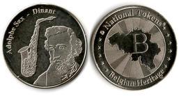 "Jeton ""Belgian Heritage"" - Dinant - Adolphe Sax (ND) - Touristiques"