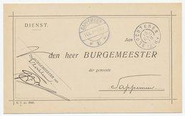 Grootrondstempel Slochteren 1918 - Periode 1891-1948 (Wilhelmina)