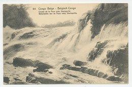 Postal Stationery Belgium Congo Waterfalls - Pozo - Timbres