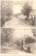 86 - USSEAU - Crime D'Usseau (mai 1905) - Multi-vues : Maison De L'assassin ROY + Quelques Jours Avant - (Châtellerault) - Frankreich