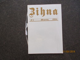 LATVIA MODERN 1974 REPRINT OF ZIHNA 1904 COMMUNIST NEWSPAPER , O - Autres
