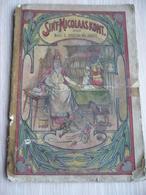 Sinterklaas Zwarte Piet Oud Boekje - Histoire