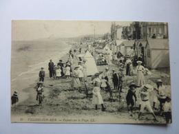 VILLERS SUR MER - Enfants Sur La Plage - Villers Sur Mer