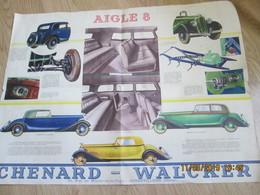 """Affiche """"chenard-walker"""" Aigle 8 - Affiches"""
