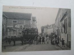 ANDILLY  Rue De Paris , Diligence , Animé 1905 - Frankreich