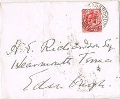 31726. Carta ABERDOUR (Fife) Scotland 1910 To Edimburgh - 1902-1951 (Reyes)
