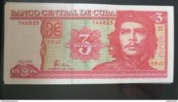 RL) 2005 CUBA -CARIBBEAN-SPANISH ANTILLES, BANKNOTES, ERNESTO GUEVARA, CHE, POLITICAL, MILITARY, DOCTOR, PRECURSOR OF VO - Cuba