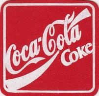 Vintage Used Coaster Coca-Cola Coca Cola - Coasters