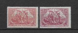LOTE 1853  ///  (C025) ALEMANIA IMPERIO 1920  MICHEL Nº: 115 VARIEDAD DE COLOR *MH - Unused Stamps