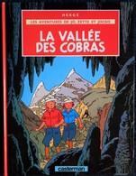 """Hergé - """" La Vallée Des Cobras """" - Les Aventures De Jo, Zette Et Jocko - Casterman . - Jo, Zette & Jocko"""
