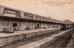 Association Rochelaise De Pêche à Vapeur. - Quai D'Expédition - La Rochelle