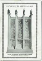 Exposition Bruxelles 1935. Horloge Astronomique De L'Horloger Zimmer. - Astronomie