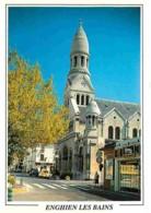 95 - Enghien Les Bains - L'Eglise - Automobiles - Carte Neuve - Voir Scans Recto-Verso - Enghien Les Bains